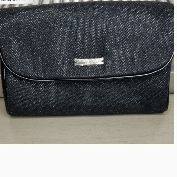 4b7eaa94866 Giorgio Armani Bags | New Black Gold Evening Clutch | Poshmark
